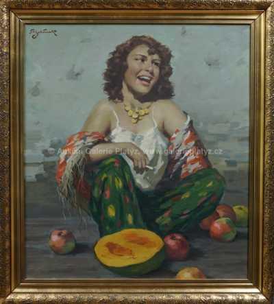 Rudolf Jelínek - Dívka z trhu