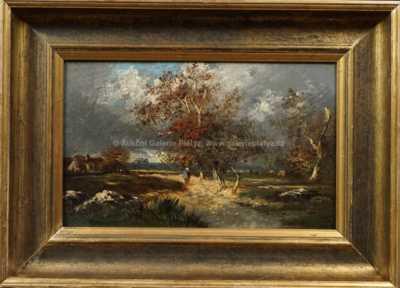 Jules Dupré - Podzim