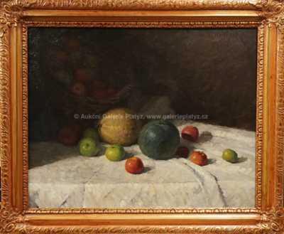 Camill Stuchlík - Zátiší s ovocem