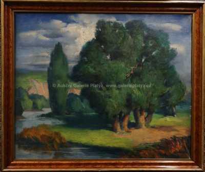 Karel Gabriel - Stromy u řeky