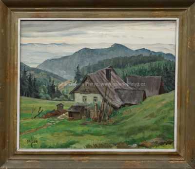 Josef Gassler - Chalupa v horách
