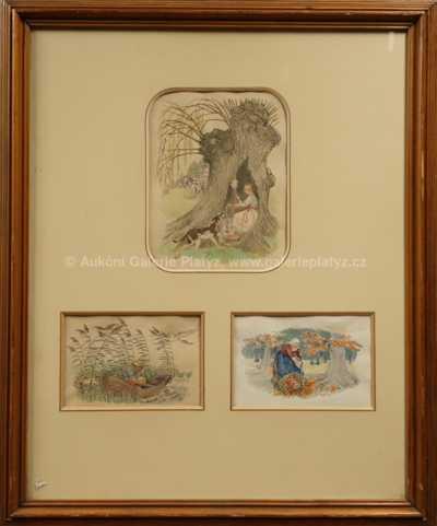 Milada Marešová - Ilustrace ke knize