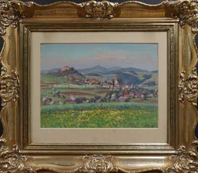 Vesnice v údolí