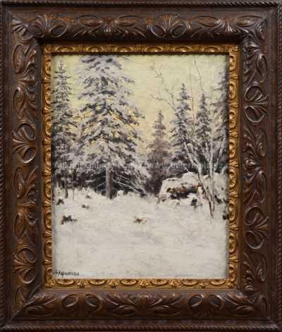 Autor neurčen - Mráz v lese