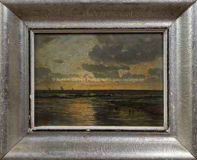 Antonín Waldhauser  - Západ slunce nad mořem