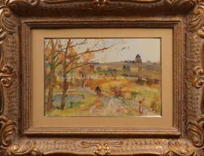 Karel Jan Sigmund - Na cestě k rybníku