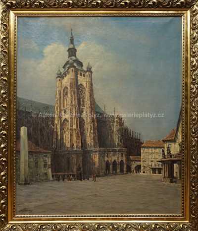 Josef Písecký (Liška) - Z Pražského hradu