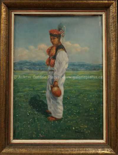 František Adamec - Krojovaný chlapec