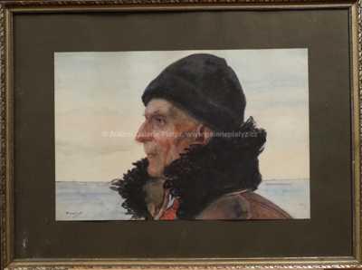 Vincent Plesnivý - Muž v kožichu