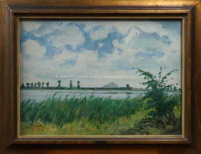 Josef Štolovský - U rybníka