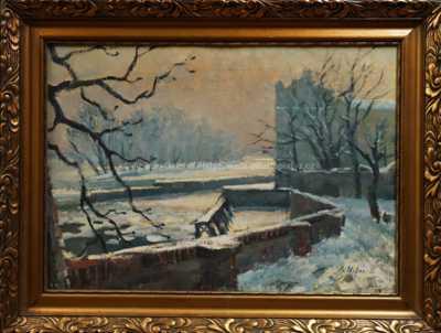 Sovovy mlýny v zimě