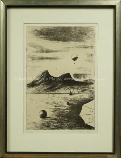 Kamil Lhoták - Balón nad horami