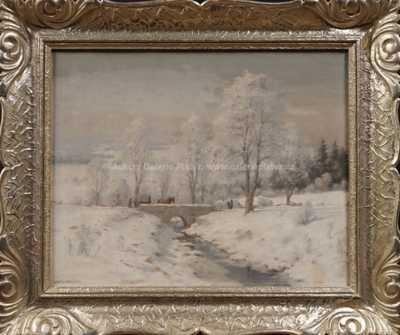 František Daněk - Sedláček - Zimní nálada