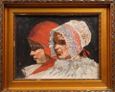 Rudolf Černý - Dvě dívky