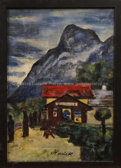 Autor neurčen - Motiv z hor