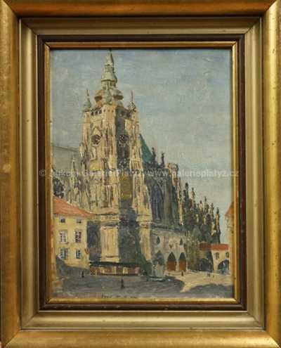 Autor neurčen - Pražská katedrála