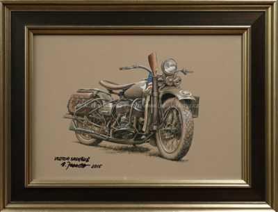 Vojenská motorka