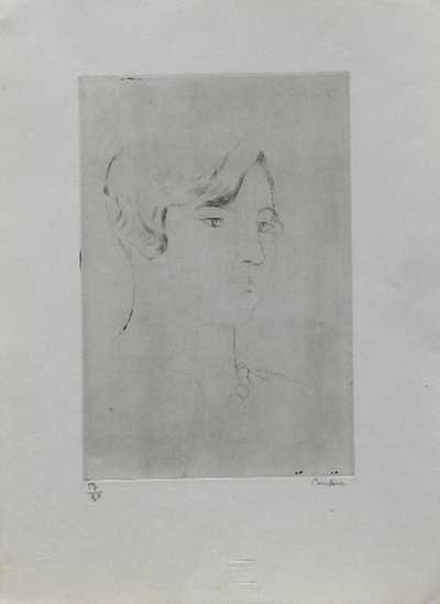 Othon Coubine - Portrét dívky