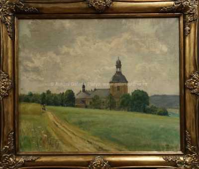 Karel Vik - Kostel sv. Matěje