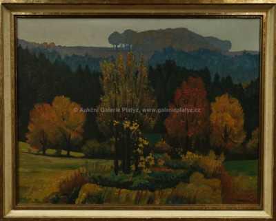Rudolf Karasek - Podzimní les