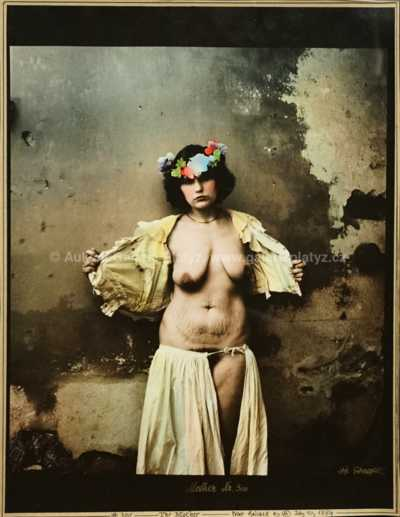 Jan Saudek - The Mother