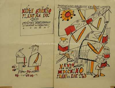 Adolf Born - Návrh ilustrace