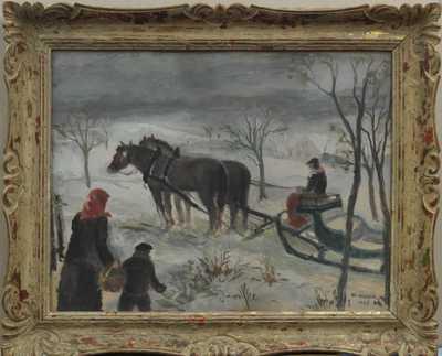 Josef Hodek - Na návštěvu v zimě