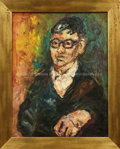 Jan  Bauch - Portrét muže