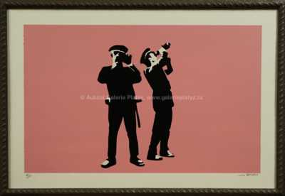 Banksy - Avon Pink