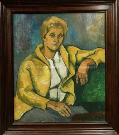 Portrét paní Míly