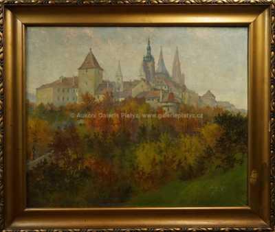 J. Šustek - Pražský hrad
