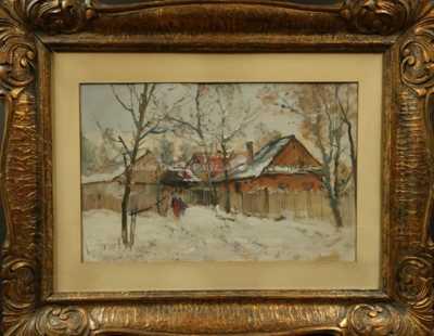 Karel Jan Sigmund - Česká zima