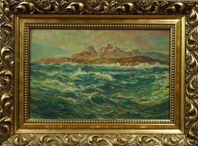 Alois Wierer - Rozbouřené moře