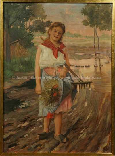 František Klimeš - Dívka na cestě