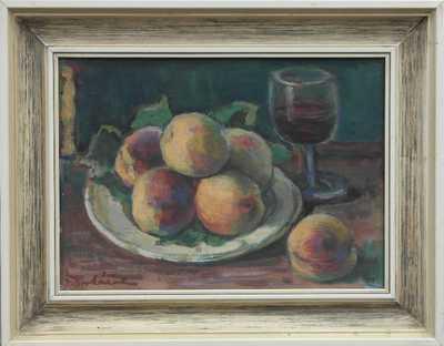 František Bukáček - Ovocné zátiší