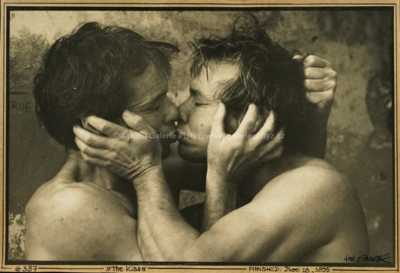 Jan Saudek - The Kiss