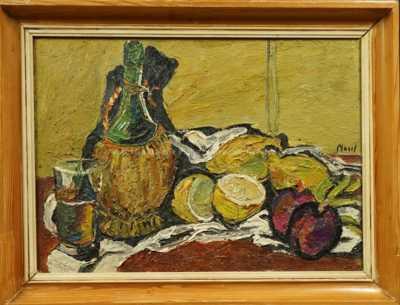 Leopold Musil - Zátiší s citróny