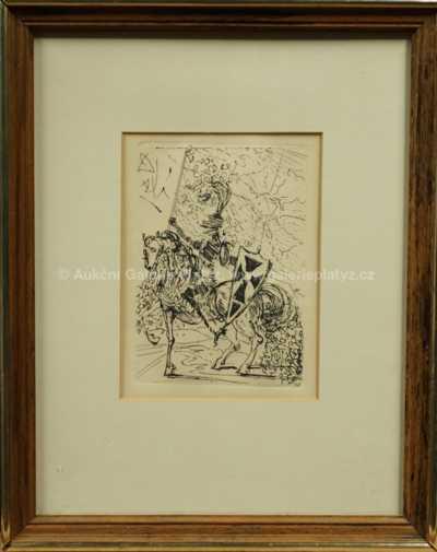 Salvador Dalí - Rytíř