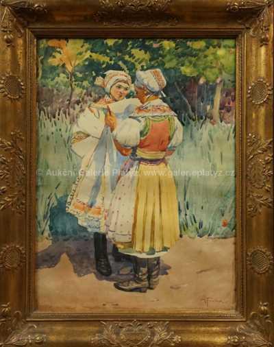 Antoš Frolka - Děvčata v krojích