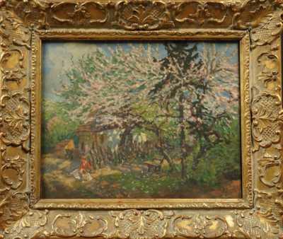 František X. Procházka - Pod rozkvetlým stromem