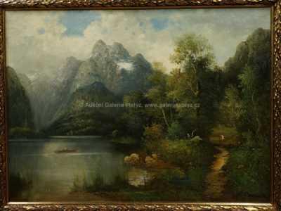 Autor neurčen - Na jezeře