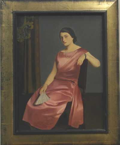 Josef Multrus - Sedící dáma