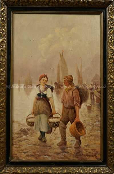 Adolf (Constantin) Baumgartner - Stoiloff - V přístavu