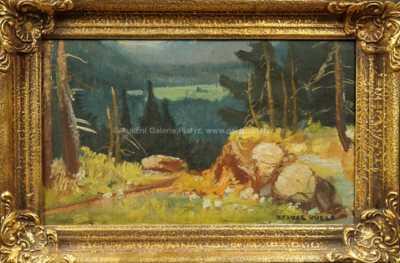 Otakar Hůrka - Na kraji lesa