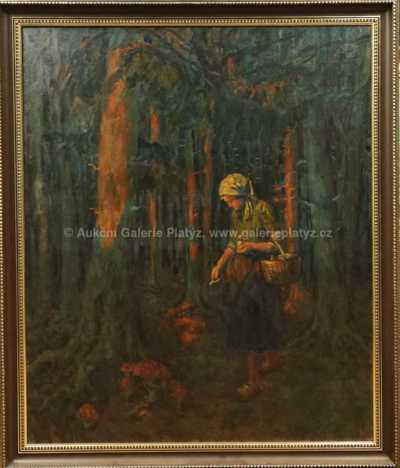 Josef Fiala - Na houbách