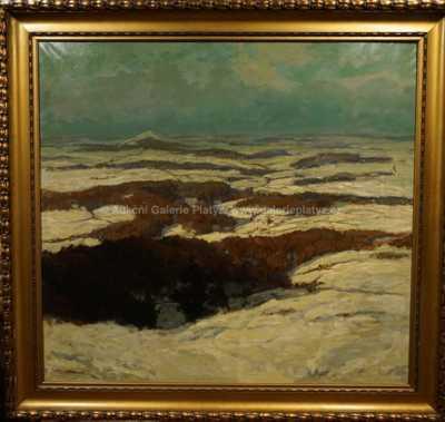 Gustav Macoun - Zimní krajina