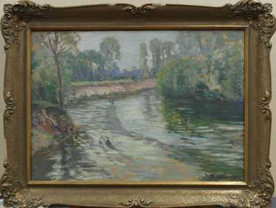 Václav Radimský - Na řece