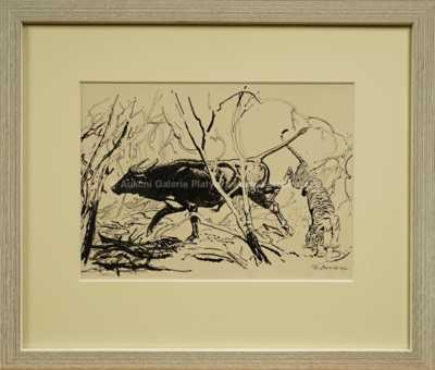 Zdeněk Burian - Tygr na lovu