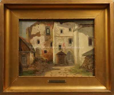 August Bedřich Piepenhagen - Ruiny kláštera
