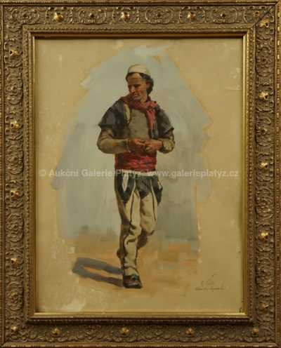 Otakar Číla - Albánský bojovník